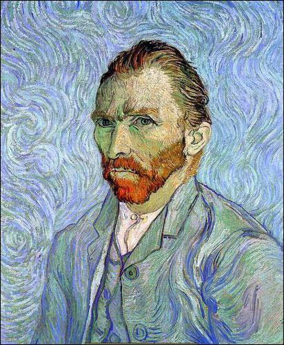 Je suis un peintre hollandais, j'ai vécu en France, je suis connu pour la touche sinueuse, tourmentée et colorée de mes autoportraits et de mes tournesols, je suis...