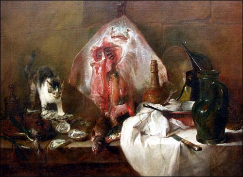 Dans quelle catégorie pourriez-vous classer cette oeuvre de Jean-Siméon Chardin de 1728 ?
