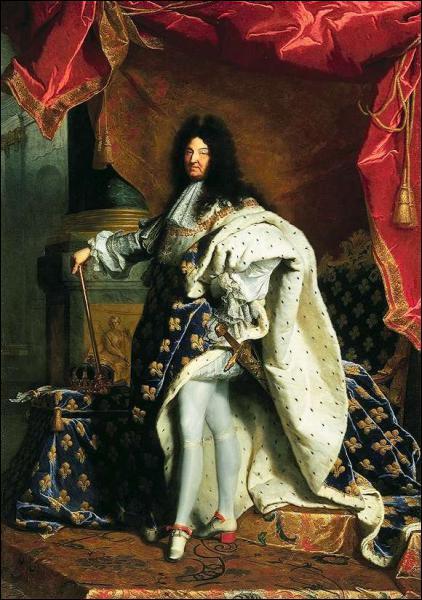 Qui le personnage peint par Hyacinthe Rigaud dans ce portrait officiel de 1701 ?