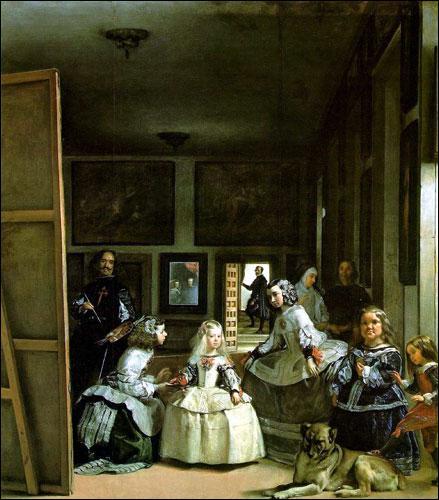 Retrouvez l'auteur et le titre de ce célèbre tableau espagnol de 1656 :