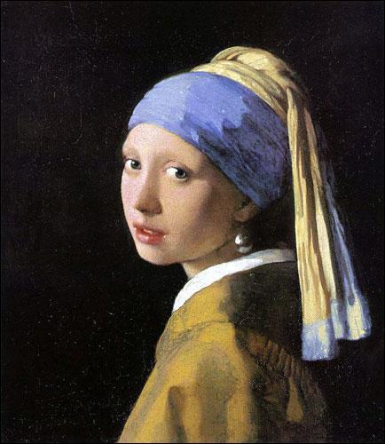 Je suis un peintre hollandais, j'ai peint cette 'Jeune fille à la perle' en 1660, je suis aussi connu pour ma 'laitière' qui fait aujourd'hui de la publicité. Qui suis-je ?