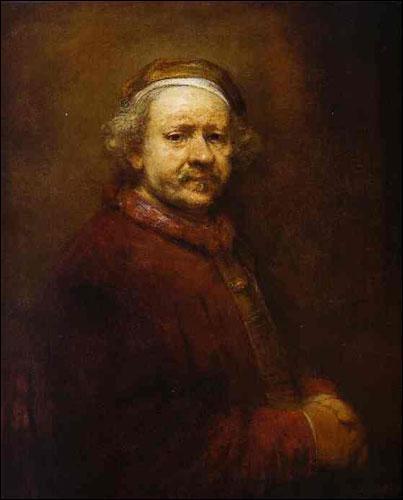 Dans cet autoportrait, comme dans plusieurs autres de ses oeuvres, Rembrandt a joué avec l'éclairage, ne faisant apparaître qu'une partie de l'image dans la lumière. Comment s'appelle cette technique ?