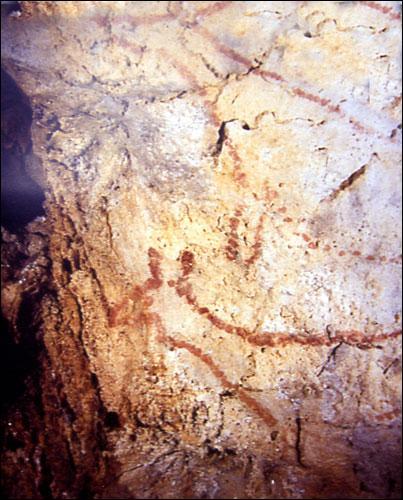 De quelle période datent les premières traces d'activité artistique de l'homme ?