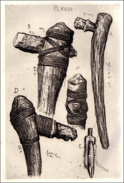 Avec la découverte du métal, les hommes ont cessé d'utiliser les pierres taillées pour leurs outils et leurs armes ?