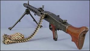 Quelle est cette arme allemande ?