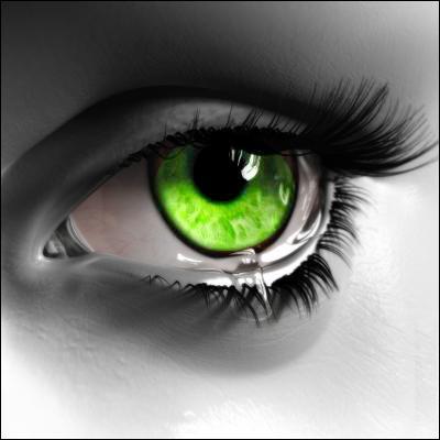 Cet oeil est...