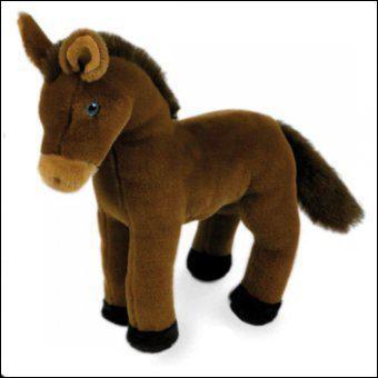 Ce cheval en peluche est...