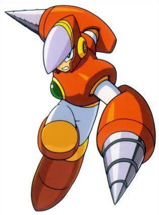 Megaman 2 : les ennemis boss