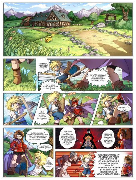 Quel est le nom de la dessinatrice de la bande dessinée ' Les Légendaires Origine ' ?
