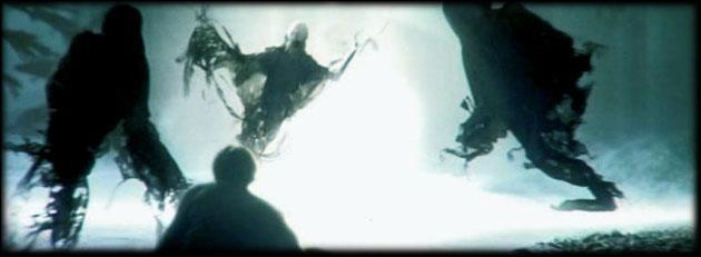 Comment s'appellent les monstres noirs contrôlés par le ministère de la magie ?