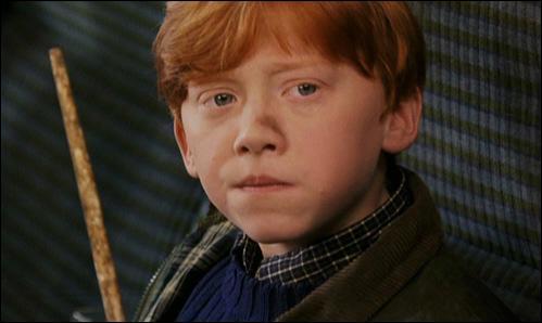 De quelle couleur est la voiture volante que Ron et Harry empreintent à monsieur et madame Weasley ?