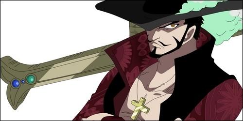 Comment surnomme-t-on le pirate Mihawk ?