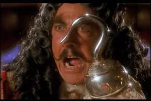 Quel bruit ne supporte pas le Capitaine Crochet ?