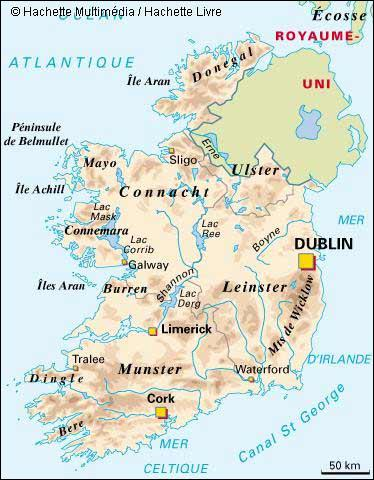 De quel pays la ville de Dublin est-elle la capitale ?