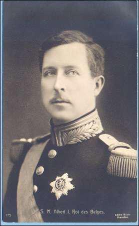 Histoire : Pour son courage pendant la Première Guerre Mondiale, Albert Ier fut surnommé :