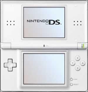 Dans Mario Kart DS, dans le menu principal, quelles sont les dimensions du quadrillage (unité=le carreau) du fond d'écran dans la partie inférieur de la DS ?