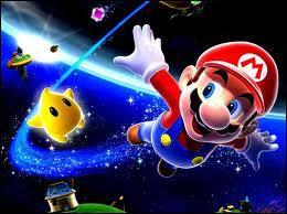 Dans Mario Galaxy 1, on peut avoir des étoiles ...