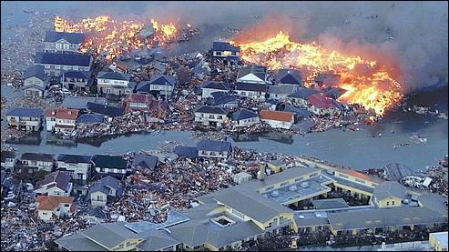 En mars 2011, un violent séisme frappe le Japon, d'une magnitude de :