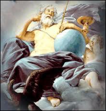 Qui est le dieu du ciel chez les romains ?