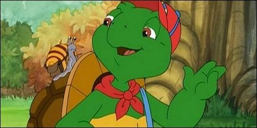 Quel est le prénom de cette tortue qui apprend les choses de la vie ?