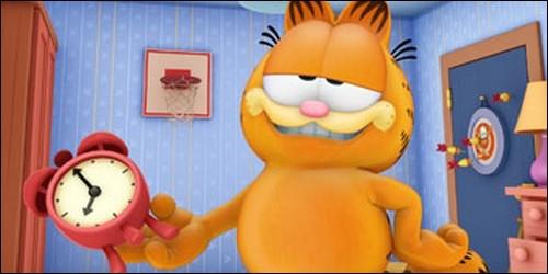 Lequel de ces personnages est un chat gros et fainéant, aimant les lasagnes ?