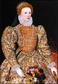 Quel événement ne s'est pas produit lors du règne d'Elisabeth 1ère (1558-1603) ?