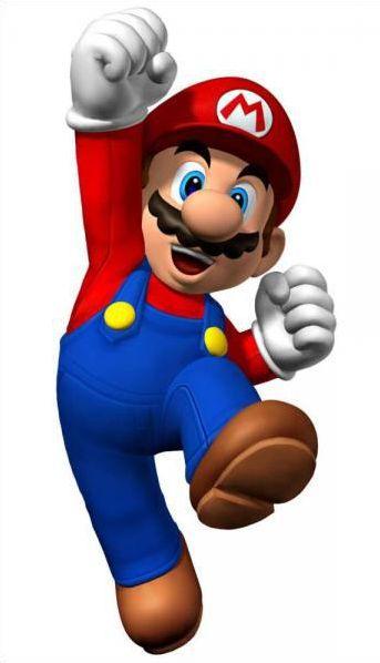 Les personnages dans Mario