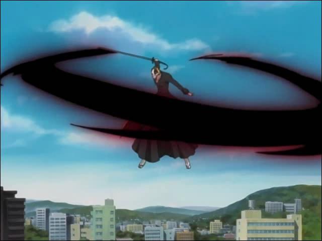 C'est une technique utilisée par Ichigo Kurosaki qui envoie une vague d'énergie spirituelle depuis la pointe de son Zanpakuto.