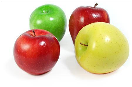 Quelle est la bonne traduction anglaise qui désigne la 'pomme' ?