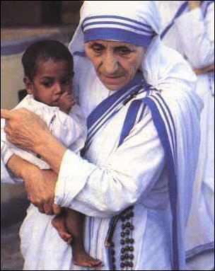 De quelle origine était Mère Thérésa ?