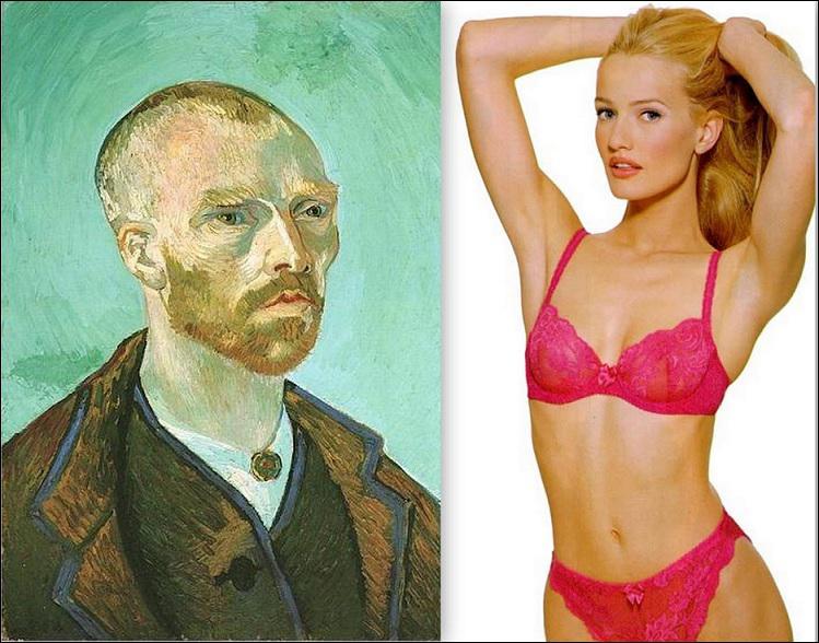 Malgré les apparences, Karen Mulder et Vincent Van Gogh ont un point commun ! Ils sont tous deux... ?
