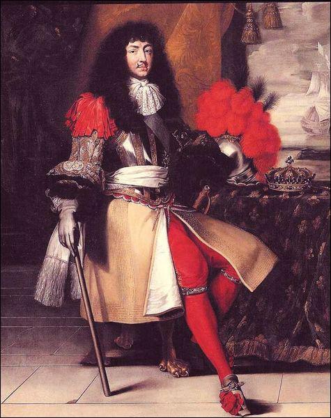 En considérant les quatre grands-parents de Louis XIV, quel pays n'est pas représenté ?