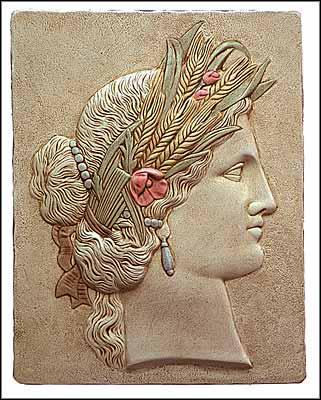 Déesse de l'agriculture et des moissons, je suis la mère de Perséphone :