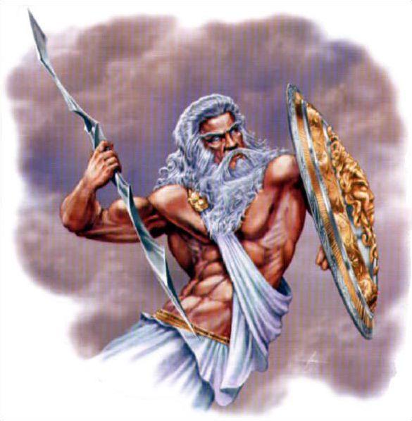 Dieux et déesses de la mythologie grecque