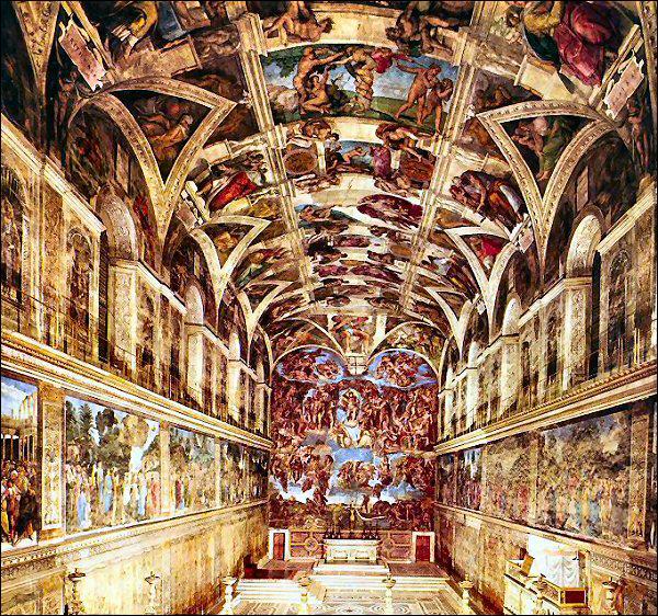 Quel pape commande à Michel-Ange la décoration de la chapelle Sixtine pour la basilique Saint Pierre ?