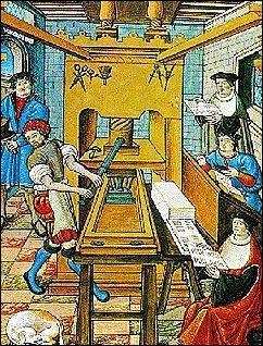 Quand et où apparaît l'imprimerie à caractères mobiles que l'on doit à Gutenberg ?
