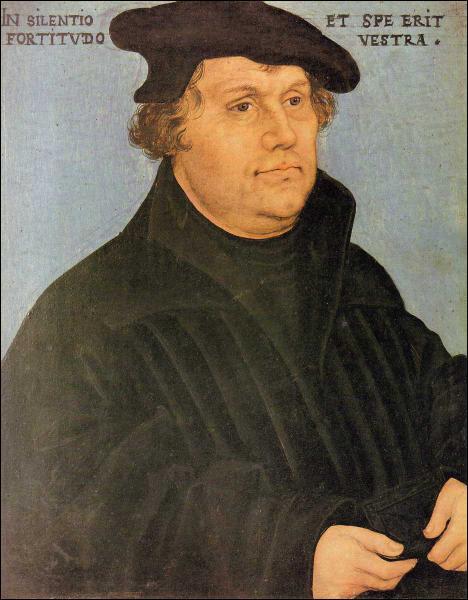 Qui a créé la religion protestante par un schisme en 1517-1521 ?