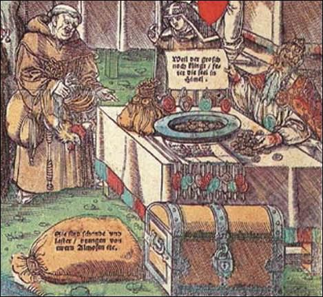 Quelle pratique catholique a déclenché ce schisme en 1517 ?