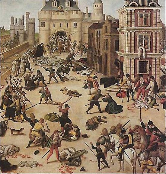 Qu'est-ce que le massacre de la Saint Barthélémy, qui est à l'origine des guerres de religion en France ?