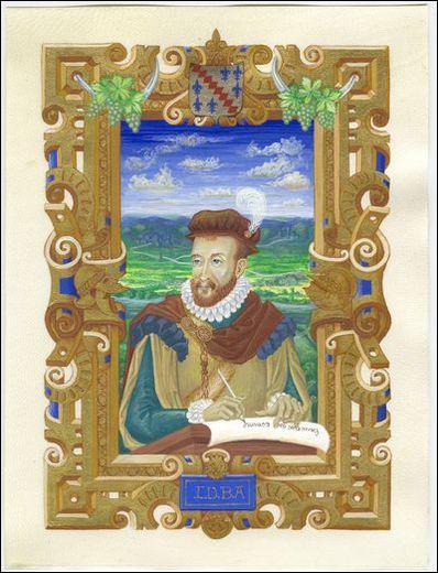 Quel poète français du 16ème siècle, membre de la Pléiade, vante les charmes de son village angevin ?