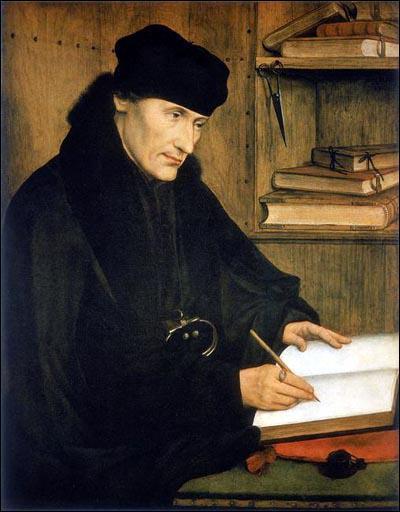 Quel humaniste du 16ème siècle est appelé 'Prince de la République des Lettres' et a donné son nom à un programme de voyages pour étudiants ?