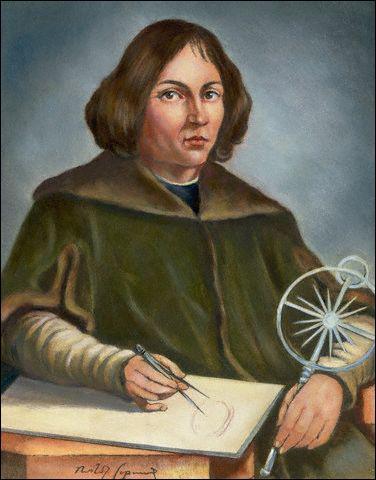 Quel astronome polonais découvre le principe révolutionnaire de l'héliocentrisme, au 15ème siècle ?