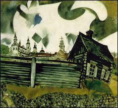 Qui a peint 'La maison grise' ?