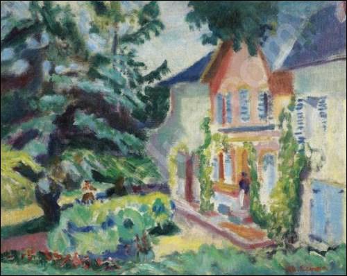 Qui a peint 'La maison rose' ?