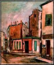 Qui a peint 'Maison rose à Montmartre' ?