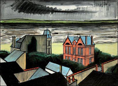 Qui a peint 'La maison rose à Trouville' ?