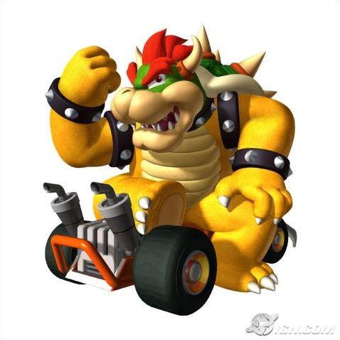 Personnages de Mario Kart DS