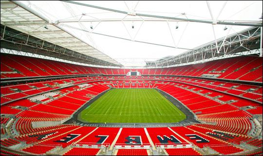 The Wembley Stadium is :