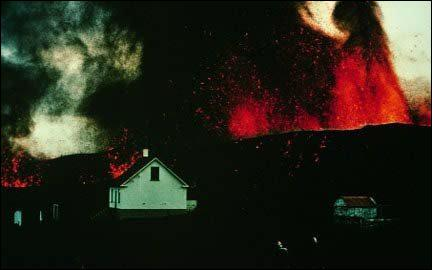 Quel dangers sont présents lors de cette éruption ?