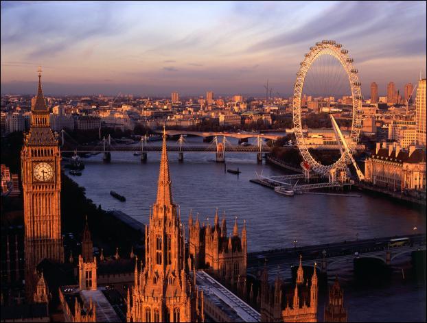 Londres est :